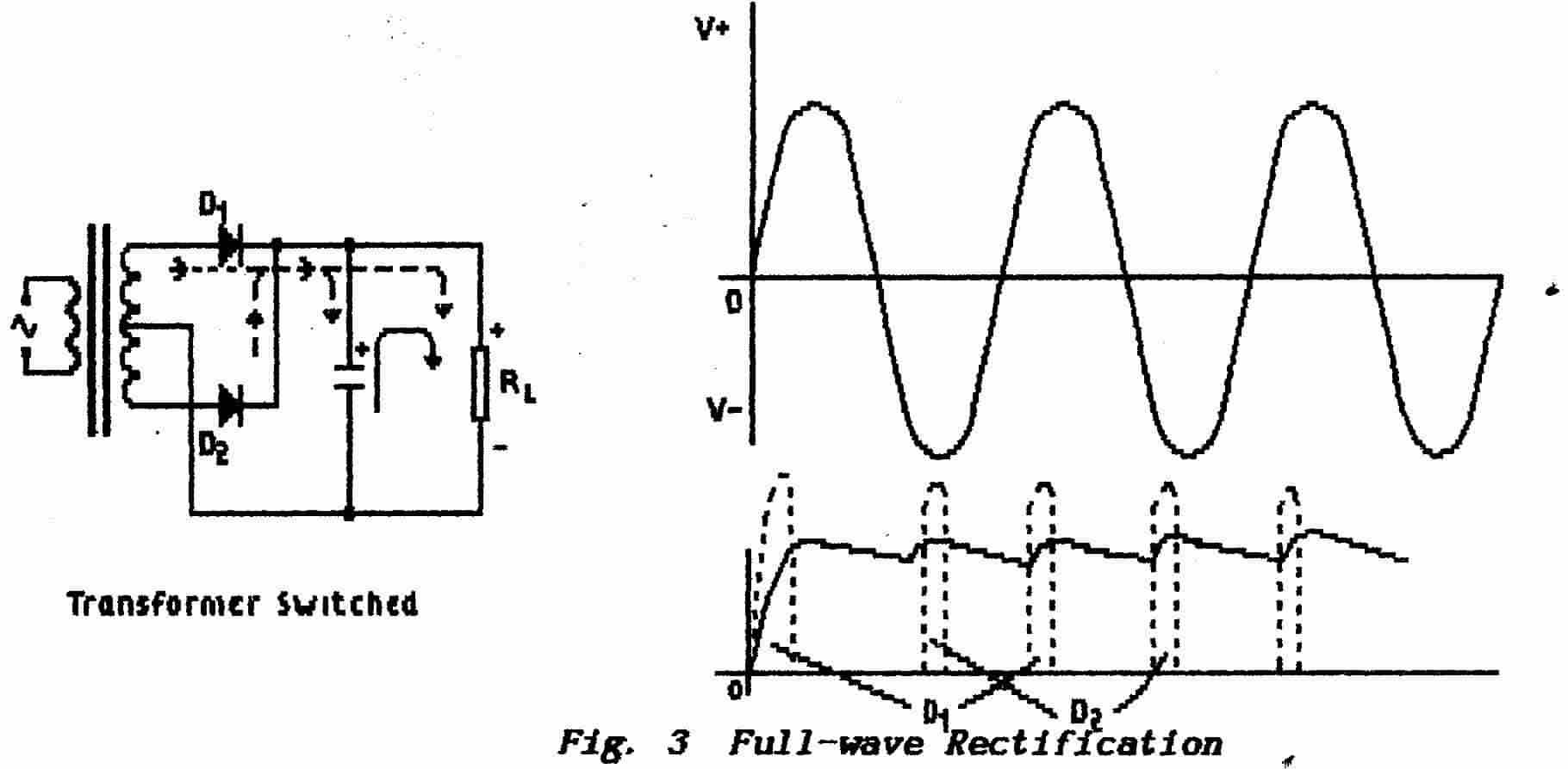 Part 5 Power Suppliers Circuit Full Wave Capacitor Choke Page 4 Back To Top Of A Rectifier